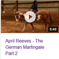 April Reeves German Martingale video Part 2